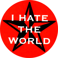 I Hate The World - Button (2,5 cm) 319