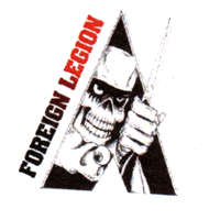 Foreign Legion (2) - Button (2,5 cm) 325