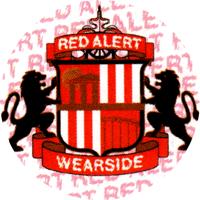 Red Alert Wearside - Button (2,5 cm) 327