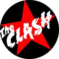 The Clash (Star) - Button (2,5 cm) 334