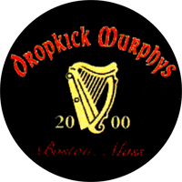 Dropkick Murphys (Harp) - Button (2,5 cm) 336