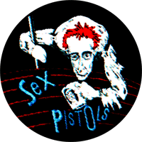 Sex Pistols Johnny - Button (2,5 cm) 353