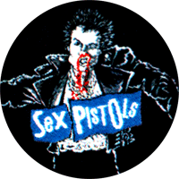 Sex Pistols Sid - Button (2,5 cm) 354