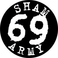 Sham 69 Army - Button (2,5 cm) 357