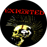 Exploited Beat The Bastards - Button (2,5 cm) 364