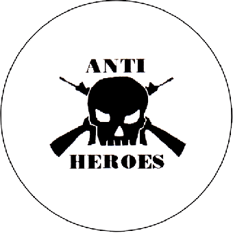 Anti Heroes - Button (2,5 cm) 367