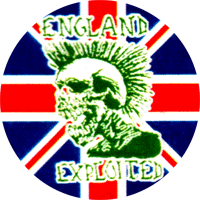 Exploited England - Button (2,5 cm) 368