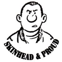 Skinhead & Proud (2) - Button (2,5 cm) 370