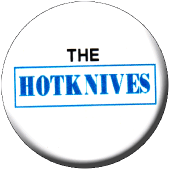 The Hotknives - Button (2,5 cm) 380