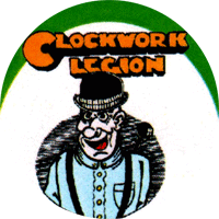 Clockwork Legion - Button (2,5 cm) 379