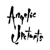Angelic Upstarts (4) (weiss/schwarz) - Button (2,5 cm) 382
