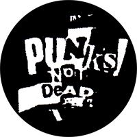 Punks Not Dead - Button (2,5 cm) 388