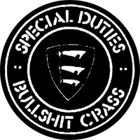 Special Duties - Button (2,5 cm) 390