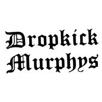 Dropkick Murphys (weiss/schwarz) - Button (2,5 cm) 391
