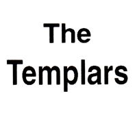 The Templars (weiss/schwarz)- Button (2,5 cm) 401