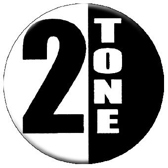 2 Tone (geteilt) - Button (2,5 cm) 413