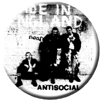 Antisocial - Button (2,5 cm) 415