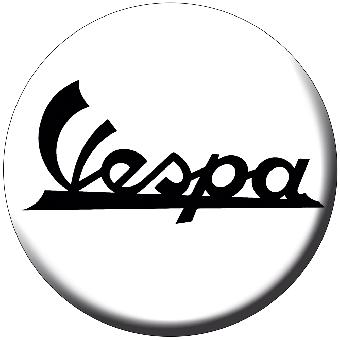 Vespa (Logo) - Button (2,5 cm) 422