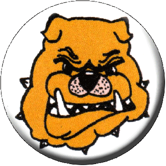 Bulldog - Button (2,5 cm) 438