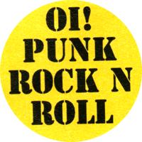 Oi! Punk Rock`N`Roll - Button (2,5 cm) 514