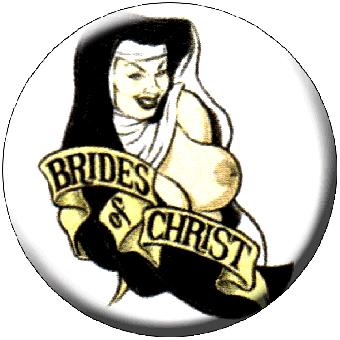 Brides Of Christ - Button (2,5 cm) 602