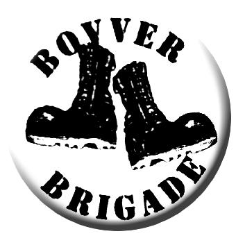 Bovver Brigade - Button (2,5 cm) 607