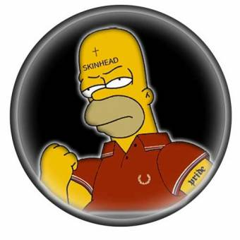 Homer Skin - Button (2,5 cm) 674