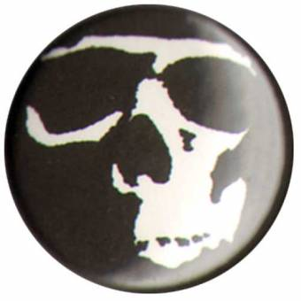 "Bonecrusher ""Skull"" Button (2,5 cm) 678"