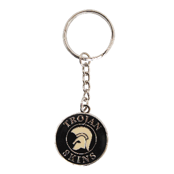 Trojan Skins Schlüsselanhänger (schwarz)