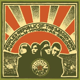 """Baboon Show, The """"People`s Republic of The Baboon Show"""" CD"""