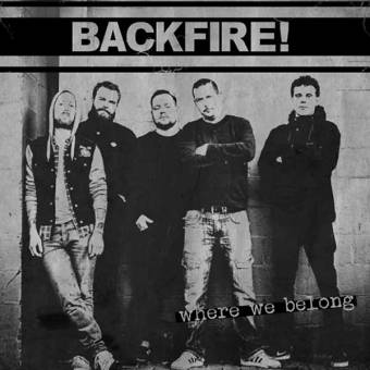 "Backfire ""Where we belong"" LP (lim. 200, black)"