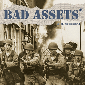 "Bad Assets ""Spirit of Detroit"" LP (lim. 175, black)"