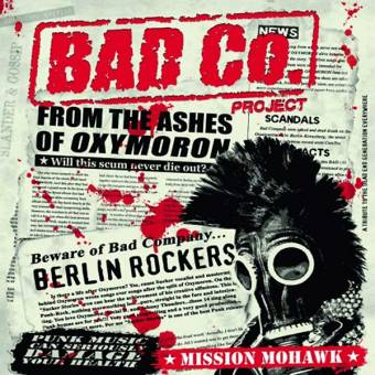 "Bad Co. Project ""Mission Mohawk"" LP (lim. 400, black)"