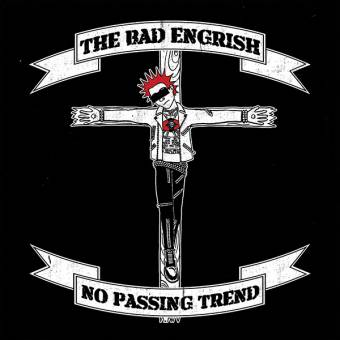 "Bad Engrish, The ""No Passing Trend"" LP (lim. 375, black splatter on red)"