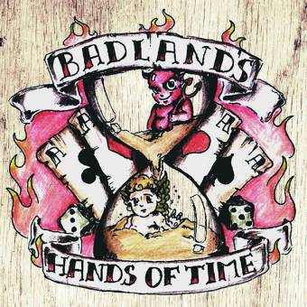 "Badlands ""Hands of time"" LP (lim. 200, red)"