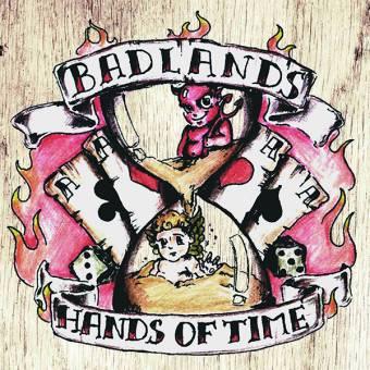"""Badlands """"Hands of time"""" LP (lim. 200, black)"""