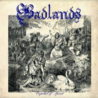 "Badlands ""Capital of Spirit"" EP 7"" (lim. 175, gold)"
