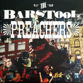 "Barstool Preachers, The ""Blatant Propaganda"" LP (lim. 400, black) + MP3"