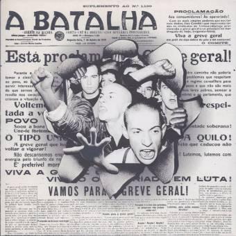 """A Batalha """"same"""" EP 7"""" (lim. 200, black)"""
