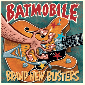 "Batmobile ""Brand new blisters"" LP+MP3 (lim. 1000, black) (180gr.)"