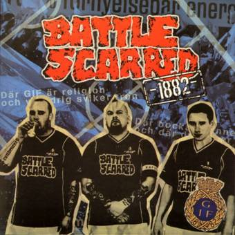 "Battle Scarred ""1882"" EP 7"" (lim. 300, blue)"