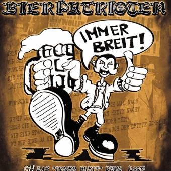 """Bierpatrioten """"Immer breit"""" CD (lim. 500)"""