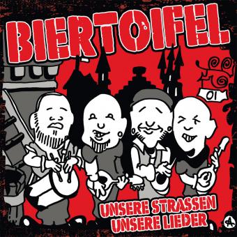 """Biertoifel """"Unsere Straßen, unsere Lieder"""" CD (DigiPak)"""