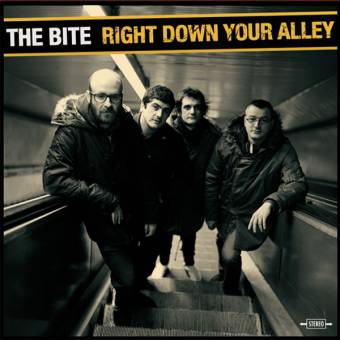 "Bite, The ""Right down your alley"" LP (lim. 100, clear)"