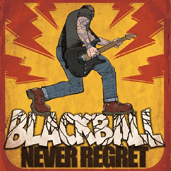 "Black Ball ""Never regret"" LP (lim 150, orange)"