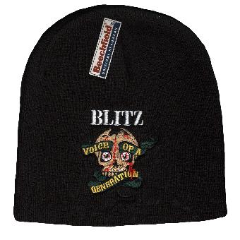"Blitz ""Voice of a generation"" Beanie"