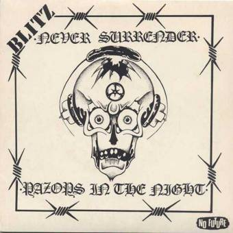 "Blitz ""Never surrender"" EP 7"" (lim. 400, black)"