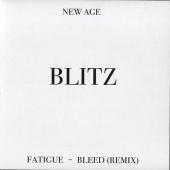 "Blitz ""New Age"" EP 7"" (black)"