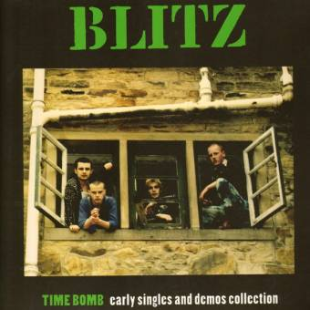 "Blitz ""Timebomb: Early Singles & Demos Collection"" LP"