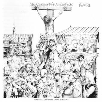 """Blood, The """"False gestures for a devious public"""" LP (lim. 400, black)"""